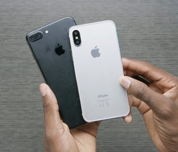 Apple iPhone X vs iPhone 8 Plus