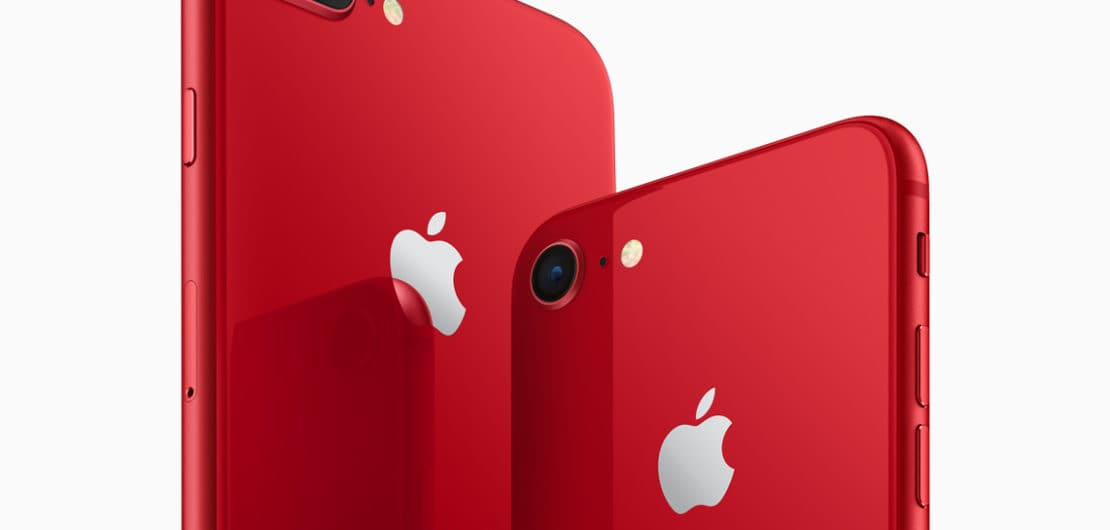 iPhone 8 iPhone 8 PLUS PRODUCT-RED