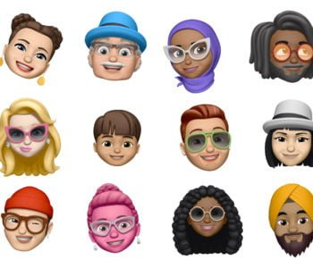 iOS12 Apple Memoji iPhone