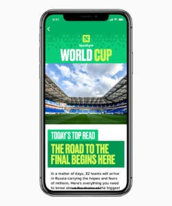 iPhone-X-World-Cup-News-App