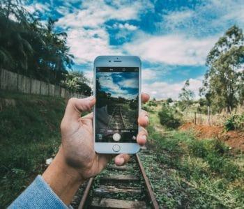 iPhone photo master grass