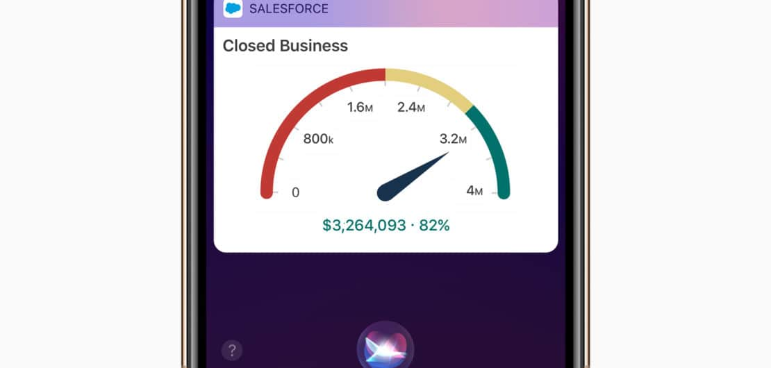 Salesforce Apple Siri