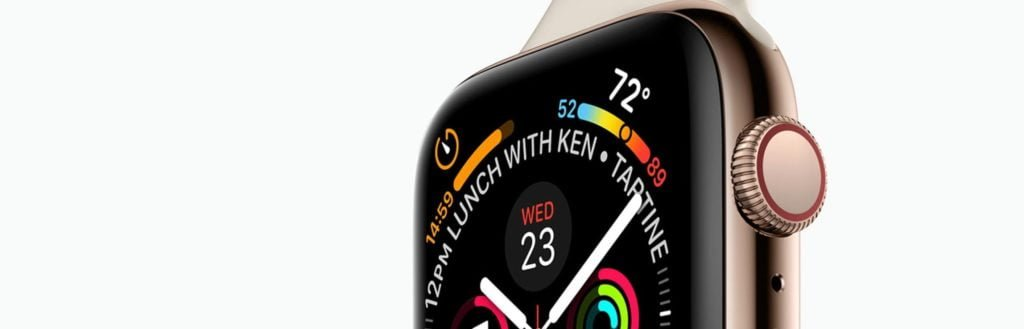 apple watch series 4 leak rumour