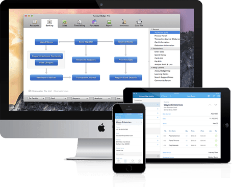 MYOB AccountEdge Mac Software